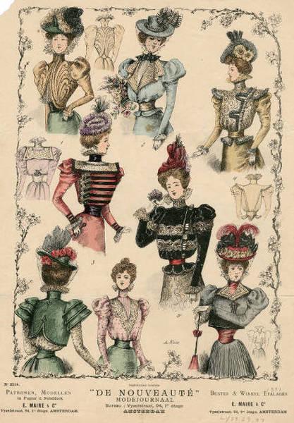 1895-1898, Fashion Plate 132