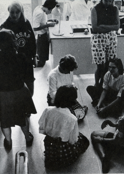 1960s Students, from the 1965 Vassarion